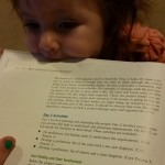 Lilah helping me with Business Analysis
