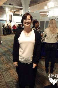 Smart Casual wear at the Careers fair (photo by USQ Marketing team)