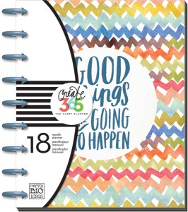 Image of a MAMBI Happy Planner with he words Good Things are Going to Happen